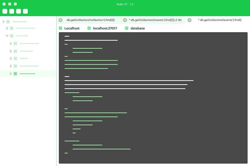 Robomongo—MongoDB management tool